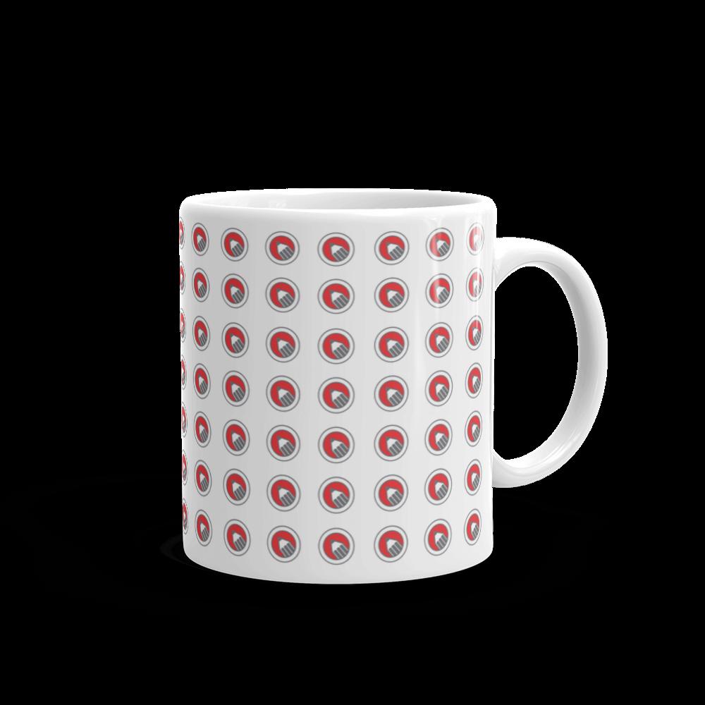 Red Pencil Logo Drawing Sketch Graphic Design Coffee Cup Mug Glumie