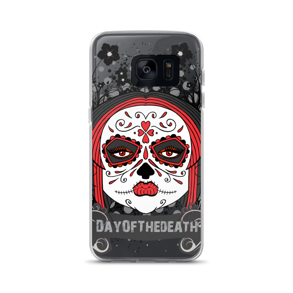 Day Of The Death Sugar Skull Drawing Art Graphic Design Samsung